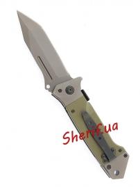 Нож складной MIL-TEC DA35 Olive, 15344501