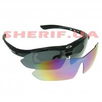 Очки Oakley Polarized 2-lens (chameleon/black) Kit Black
