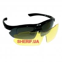 Очки защитные Oakley Polarized 2-lens Kit Black