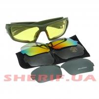 Тактические очки ESS Rollbar 4LS Kit Olive