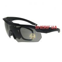 Очки тактические ESS Crossbow (5ls) Black