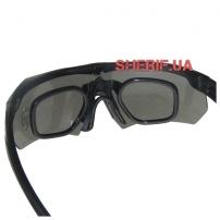 Очки тактические ESS Crossbow (5ls) Black-3