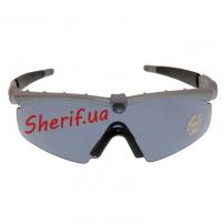 Очки тактические Oakley Ballistic SIM Frame Grey-3