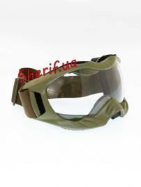 Очки тактические MIL-TEC Attack Olive, 15615601