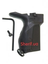 Пистолетная рукоять на Макаров левосторонняя Black PM-G Left Bl