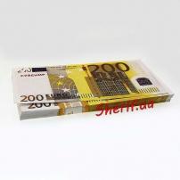 Сувенирная пачка купюр по 200 Евро