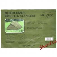 Палатка 2-местная «Mini Pack Standard», Olive 1420500 6