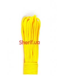 Паракорд Type III 550, yellow #019-3