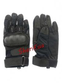 Перчатки Blackhawk FF с д/р + пл.кост. Black