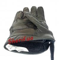 Перчатки MIL-TEC тактические кожаные Black, 12504102-2