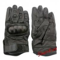 Перчатки MIL-TEC тактические кожаные Black, 12504102-3