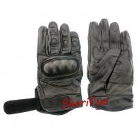 Перчатки MIL-TEC тактические кожаные Black, 12504102-4
