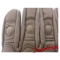 Перчатки MIL-TEC тактические кожаные COYOTE, 12504105-3