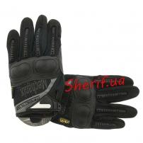 Перчатки Mechanix M-Pact 3 FF+ плас. кост. Black