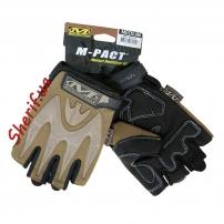 Перчатки Mechanix Wear MPACT беспалые Coyote brown