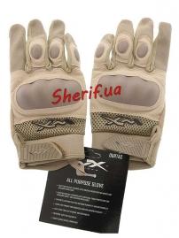 Перчатки Wiley X DURTAC SmartTouch Tan-2