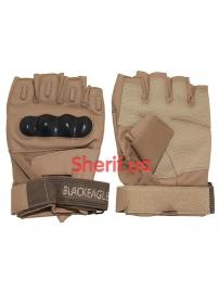 Перчатки б/п Blackeagle HF с др+плас. кост. Coyote