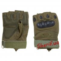 Перчатки б/п Oakley  HF+ пл.кост. Olive