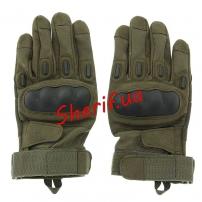 Перчатки Blackhawk  FF с д/р + пл.кост. Olive
