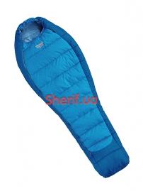 Спальный мешок-кокон Pinguin MISTRAL 195 синий R