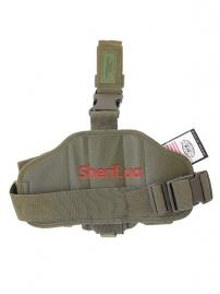 Тактическая набедренная кобура Max Fuchs Olive Leg-and belt fixing-2