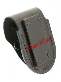 Подсумок Max Fuchs для наручников (кожа екстра) Black-2
