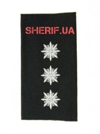 Погон Старший лейтенант полиции (1шт) продевной