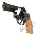 Револьвер под патрон Флобера Profi 3' (черный/бук)