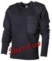 Пуловер BW акриловый Max Fuchs Blue
