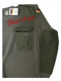 Пуловер BW Max Fuchs Olive-4