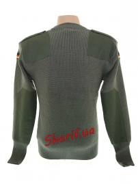 Пуловер BW Max Fuchs Olive-3