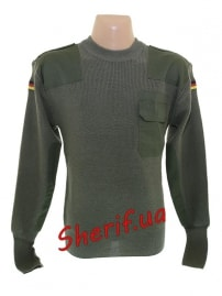 Пуловер BW Max Fuchs Olive