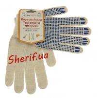 Рукавицы трикотажные для защиты рук белые (хлопок 60%)