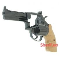Револьвер под патрон Флобера Сафари РФ-441 М бук-3