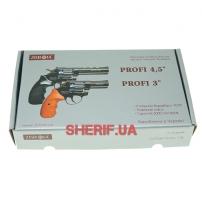 Револьвер п/п Флобера кал. 4мм PROFI-3 черн. Pocket-8