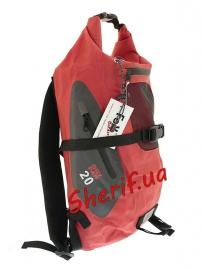Рюкзак Max Fuchs Dry Pack непромокаемый Red, 20л