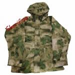 Куртка MIL-TEC ветро-влагозащитная с флисовой подстежкой AT FG1