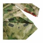 Куртка MIL-TEC ветро-влагозащитная с флисовой подстежкой AT FG2