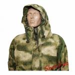 Куртка MIL-TEC ветро-влагозащитная с флисовой подстежкой AT FG7