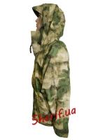 Куртка MIL-TEC ветро-влагозащитная с флисовой подстежкой AT FG8