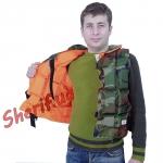 Жилет спасательный с воротником до 65 кг подрост