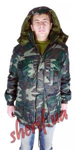 Куртка зимняя НАТО В-70 камуфляж
