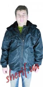 Куртка зимняя Пилот черная