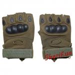 Перчатки тактические беспалые Oakley (олива)