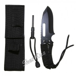Нож Rothco Large Paracord Knife / Firestarter / Polyester Sheath
