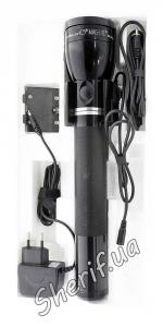 Фонарь MagLITE аккумуляторный c адаптерами 12В и 220В RX4019