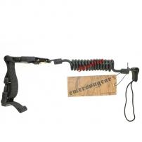 Страховочный шнур на пистолет Emerson Elastic Shortgun Sling Black