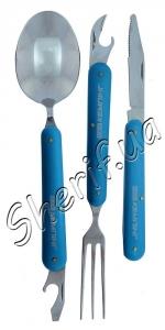 Туристический набор: нож, вилка, ложка F905