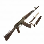Макет автомата Калашникова АК-74 (ММГ-макет массо-габаритный)