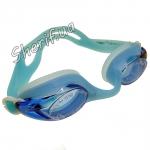 Очки для плавания голубые Speedo
